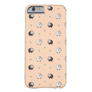 Cute Sheep Lamb Pattern Barely There iPhone 6 Case