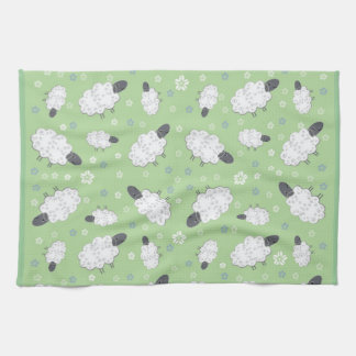 Cute Sheep Placemat Kitchen Towel
