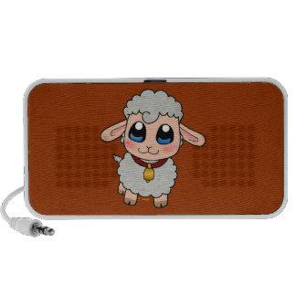 Cute Sheep Portable Speakers