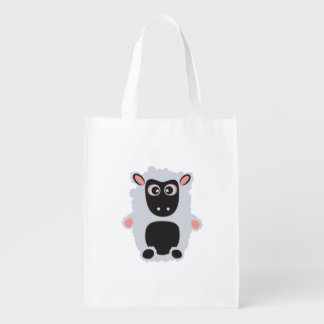 Cute Sheep Reusable Grocery Bag