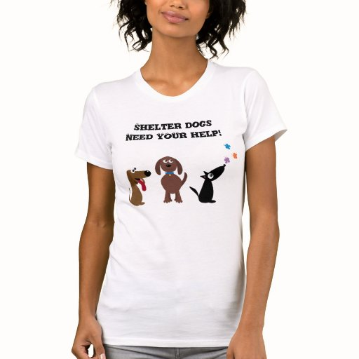 Cute shelter dogs need your help charity t shirts zazzle for Sell t shirts for charity
