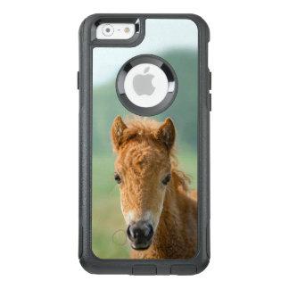 Cute Shetland Pony Foal Horse Head Frontal Photo . OtterBox iPhone 6/6s Case