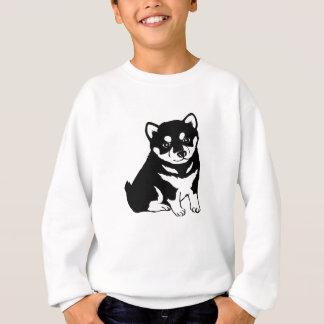 Cute Shiba Inu Puppy Dog Silhouette T-Shirt