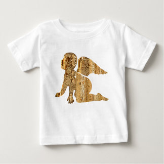 Cute Shiny Golden Little Baby Angel Baby T-Shirt