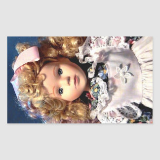 Cute Shirley Temple Doll Sticker