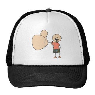 Cute Shirts | Cute Boy Thumbs Up Gift Shirts Trucker Hat