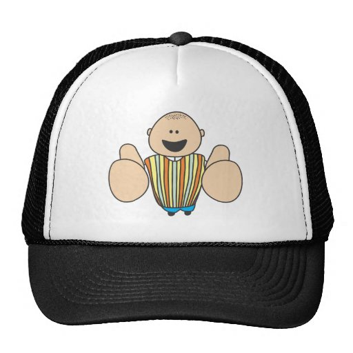 Cute Shirts | Cute Boy Two Thumbs Up Gift Shirts Mesh Hats