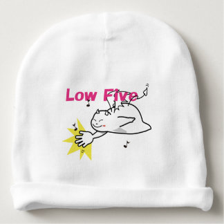 Cute Shy Devil Low Five Baby Beanie