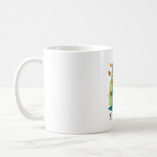 Cute Shy raccoon Coffee Mug