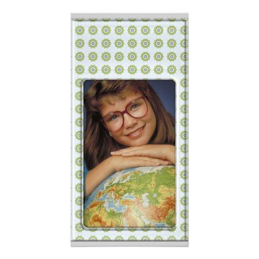 Cute silver photo frame - Photo Card