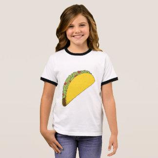Cute, simple taco drawing shirt