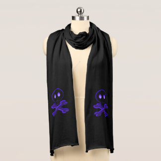 Cute Skull and Crossbones Scarf