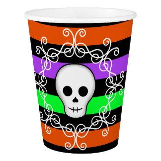 Cute skull Halloween Paper Cup