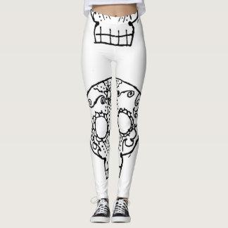 Cute skull leggings