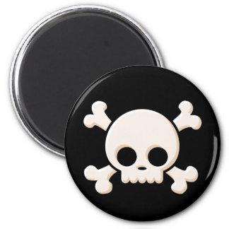 Cute Skull Magnet