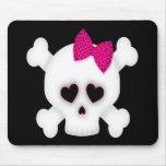 Cute Skull Mousepad