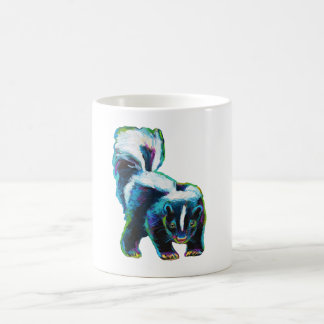 Cute Skunk by Robert Phelps Coffee Mug