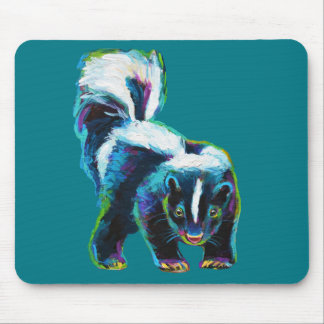 Cute Skunk by Robert Phelps Mouse Pad