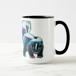 Cute Skunk by Robert Phelps Mug
