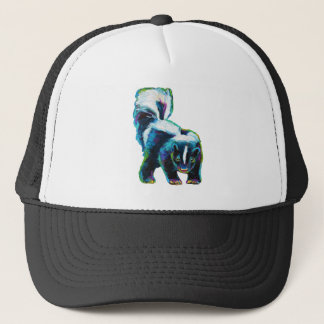 Cute Skunk by Robert Phelps Trucker Hat