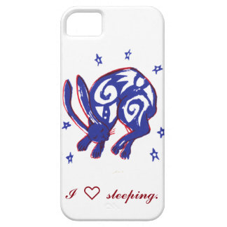 Cute Sleeping Bunny Phone Case