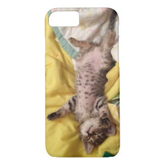 Cute Sleeping Kitten Phone Case (Animal Rescue)