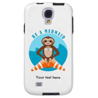 Cute Sloth Be a Mermaid