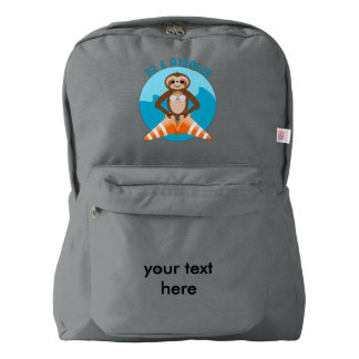 Cute Sloth Be a Mermaid Backpack