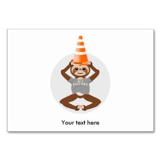 Cute Sloth Be A Unicorn Card