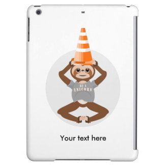 Cute Sloth Be A Unicorn iPad Air Cover