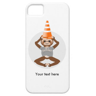 Cute Sloth Be A Unicorn iPhone 5 Covers