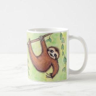 Cute Sloth Classic White Coffee Mug