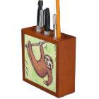 Cute Sloth Desk Organizer