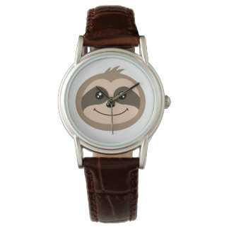 Cute Sloth Face Watch