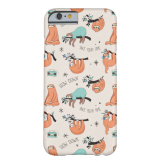 Cute Sloth iPhone Case