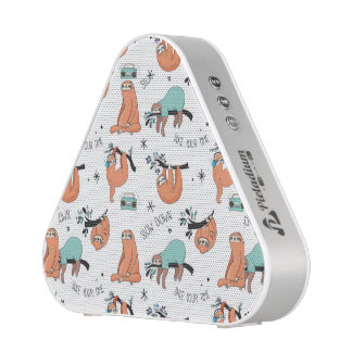 Cute Sloth Pattern Blueooth Speaker