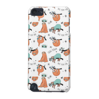 Cute Sloth Pattern iPod Touch 5G Cover