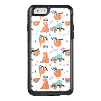 Cute Sloth Pattern OtterBox iPhone 6/6s Case