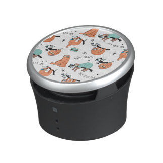 Cute Sloth Pattern Speaker