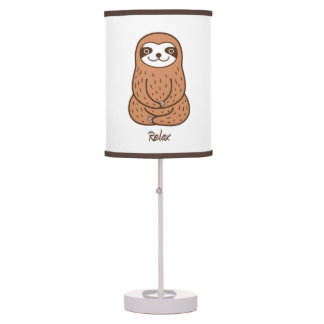 Cute Sloth Table Lamp