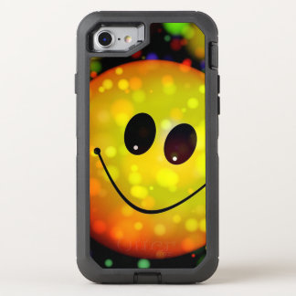 Cute Smiley Face OtterBox Defender iPhone 8/7 Case