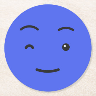 Cute Smiley paper coasters 3/9