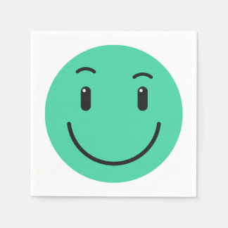 Cute Smiley paper napkins 2/9