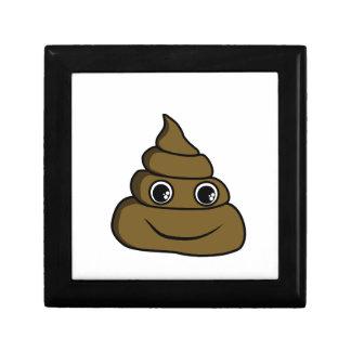 cute smiley poop gift box