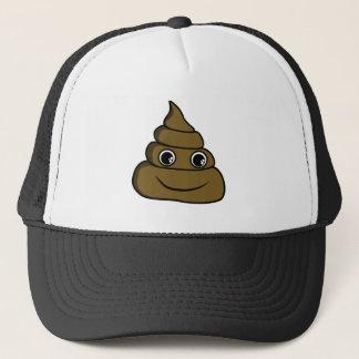 cute smiley poop hat