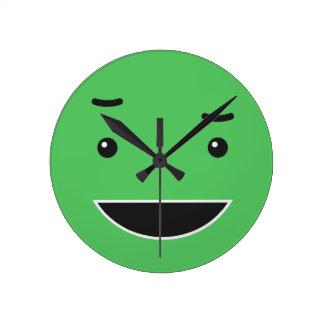 Cute Smiley wall clocks