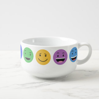 Cute Smileys soup bowl