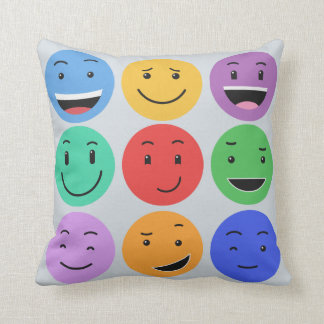 Cute Smileys throw pillows