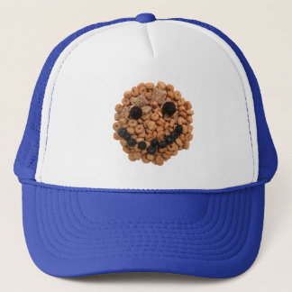 Cute Smiling Fruit and Cereal Face Trucker Hat