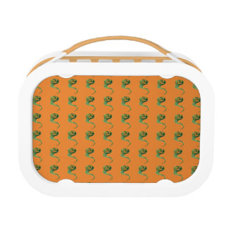 Cute Smiling Jack O Lantern Pumpkin Ghost Lunch Box
